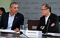 Benigno Aquino III and Barack Obama during U.S.-ASEAN Summit 2.17.16.jpg