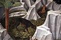 Benozzo gozzoli, corteo dei magi, 1 inizio, 1459, cane e leprotto.JPG