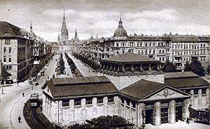 City West - Tauentzienstraße around 1915