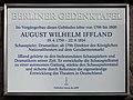 Berliner Gedenktafel Charlottenstr 33 (Mitte) August Wilhelm Iffland.jpg
