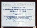 Berliner Gedenktafel Lassenstr 1 (Grune) Harald Juhnke.jpg