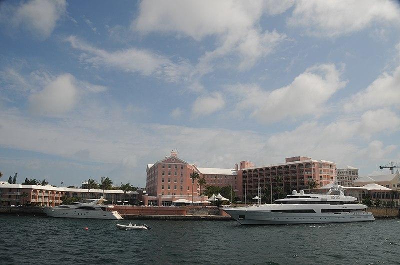 File:Bermuda - Hamilton Harbour - the Fairmont Princess Hotel - panoramio.jpg