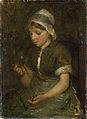 Bernard Blommers - Meisje met kersen.jpg