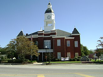 Berrien County, Georgia - Image: Berrien County Courthouse