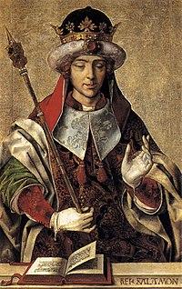 Salomon, peint par Pedro Berruguete(vers 1500)