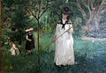 Berthe morisot, caccia alla farfalla, 1874, 02.JPG