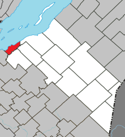 Berthier-sur-Mer Quebec location diagram.png