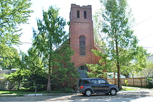 National Register of Historic Places listings in Licking County, Ohio - Image: Bethel Baptist Church Pataskala Ohio