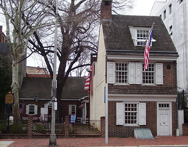 Betsy ross house for Ross north home designs