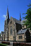 Bettrath, Kath. Kirche Herz Jesu, Hansastrasse.JPG