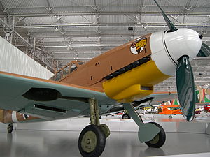 Ilmari Juutilainen - Bf 109G-2, Wings of Dream Museum in São Carlos, Brazil. Flying this type of aircraft, Juutilainen scored 58 air victories.