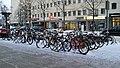 Bicycles Kirkkokatu Oulu 20180119.jpg