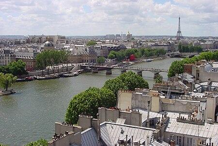 Paris a'r afon Seine