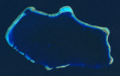 Bikini Atoll 2001-01-14, Landsat 7 ETM+, bands 3-2-1-8, rev2.png