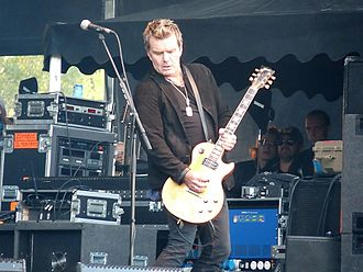 Billy Duffy - Duffy performing in 2011