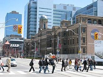 Frank Darling (architect) - Image: Bio tech research centre, heritage building, Toronto General Hosp.IMG 5684