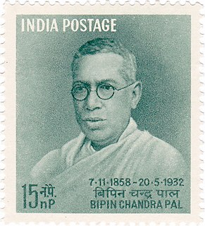 Bipin Chandra Pal Indian academic and politician