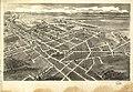 Bird's-eye-view of Hickory, North Carolina. LOC gm71005334.jpg
