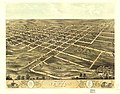 Bird's eye view of Newton, Jasper Co., Iowa 1868. LOC 73693405.jpg