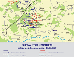 Battle of Kock (1939) - Image: Bitwa kock 1939 2