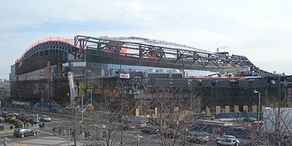 Barclays Center - February 2012, just seven months before construction was finished