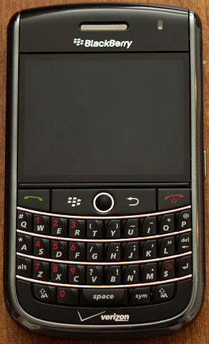 BlackBerry Tour - Image: Black Berry Tour