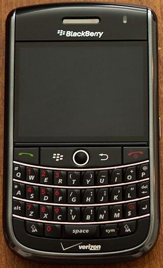 BlackBerry Tour - Image: Black Berry Tour
