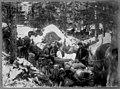 Blockade on Porcupine Hill, Skagway Trail, 1898 (MOHAI 7149).jpg