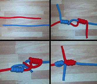 Blood knot - Blood knot step by step