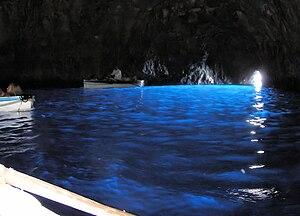 Blue grotto in capri arp