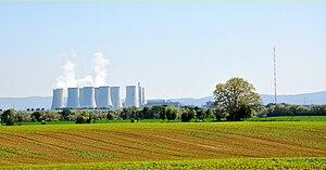 Nuclear power plant - Bohunice Nuclear Power Plant in Jaslovské Bohunice in Slovakia.