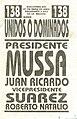 Boleta elecciones argentinas de 2003 - Unidos o Dominados.jpg