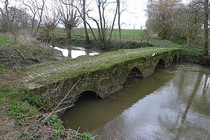 Scheduled monuments in Mendip - Image: Bolters Bridge (geograph 3904560)