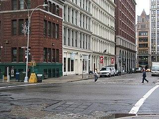 NoHo, Manhattan neighborhood in Manhattan, New York