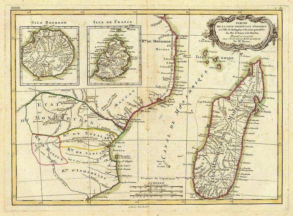 Bonne - Afrique, cote orientale