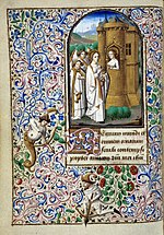 Book of Hours of Simon de Varie - KB 74 G37a - folio 018v.jpg