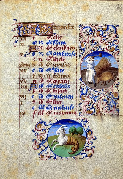 File:Book of Hours of Simon de Varie - KB 74 G37a - folio 099r.jpg