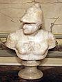 Bottega toscana, busto di san giorgio, XVI-XVII sec. 02.JPG