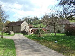 Bouldon village in United Kingdom