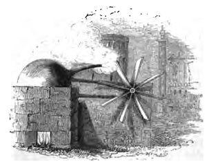 1629 in science - Giovanni Branca's steam turbine