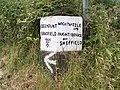 Bradfield Parish Marker Stone - 10 - Brightholmlee Lane - Thorn House Lane - geograph.org.uk - 901969.jpg