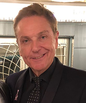 Brian Conley - British comedian, singer and actor Brian Conley backstage at the Dorchester Hotel in London October 2018 performing for the Caron Keating Foundation.
