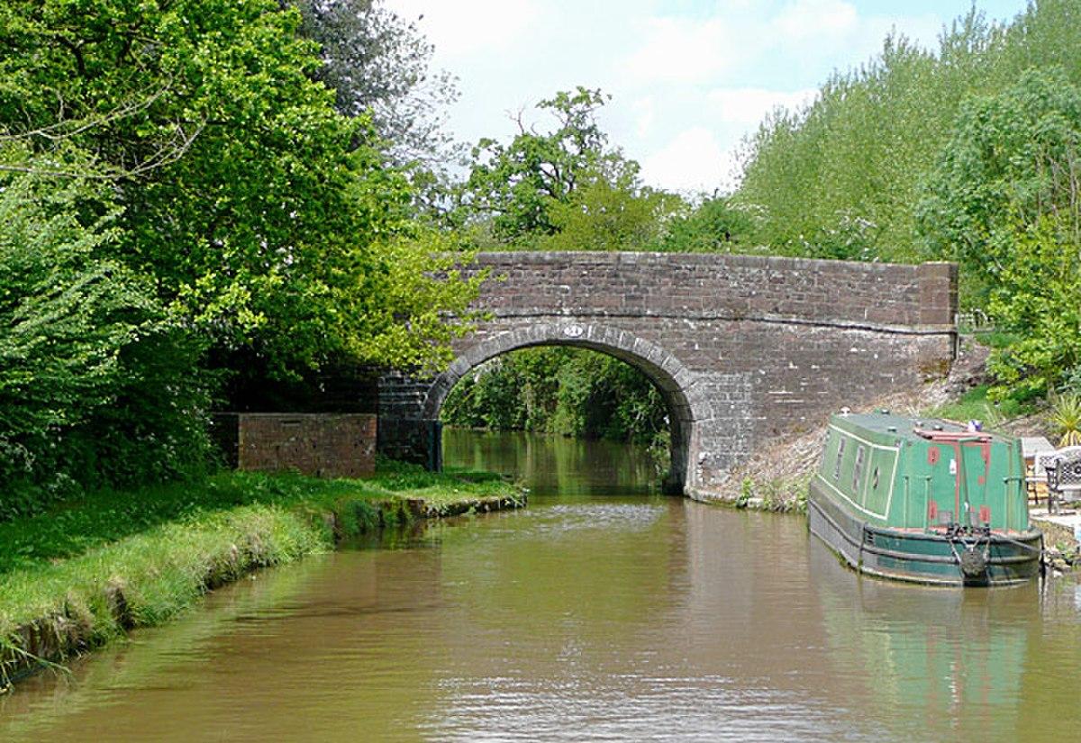Bridge No 54, near Cheswardine, Shropshire - geograph.org.uk - 1589019.jpg