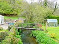 Bridge and garden - geograph.org.uk - 2025529.jpg
