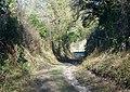 Bridleway junction, Throope - geograph.org.uk - 683276.jpg