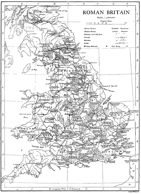List of Roman place names in Britain - Wikipedia