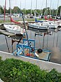 Britannia Yacht Club inner harbour with Charlotte Whitton utility crane.jpg