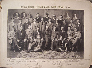 1910 British Lions tour to South Africa - The 1910 British Isles team