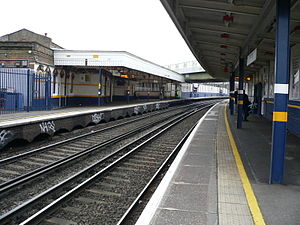 Brixton railway station - Image: Brixton railway station 02