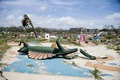 Broken miniature golf pieces in the ruins of Biloxi, Mississippi coast after hurricane Katrina LCCN2010630839.tif